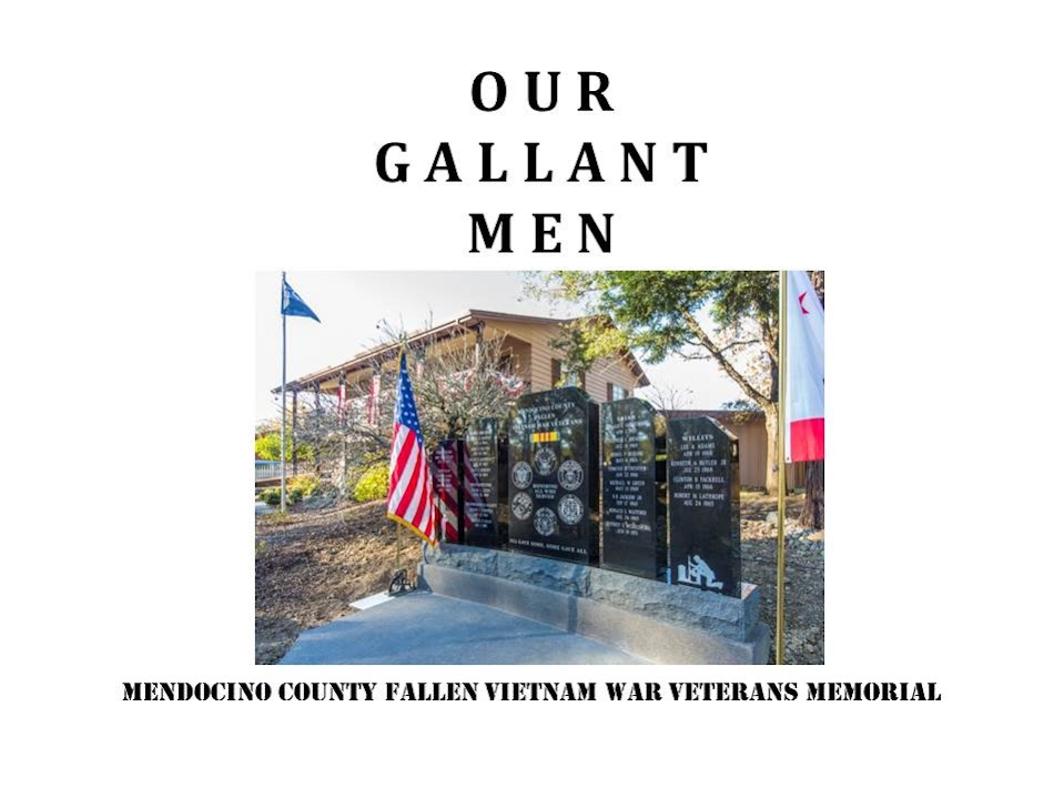 Our Gallant Men Booklet